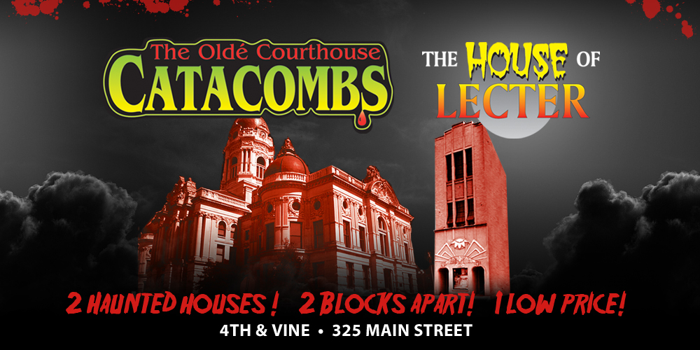 Old Courthouse Catacombs and The House of Lecter  Evansville, Indiana Haunted House